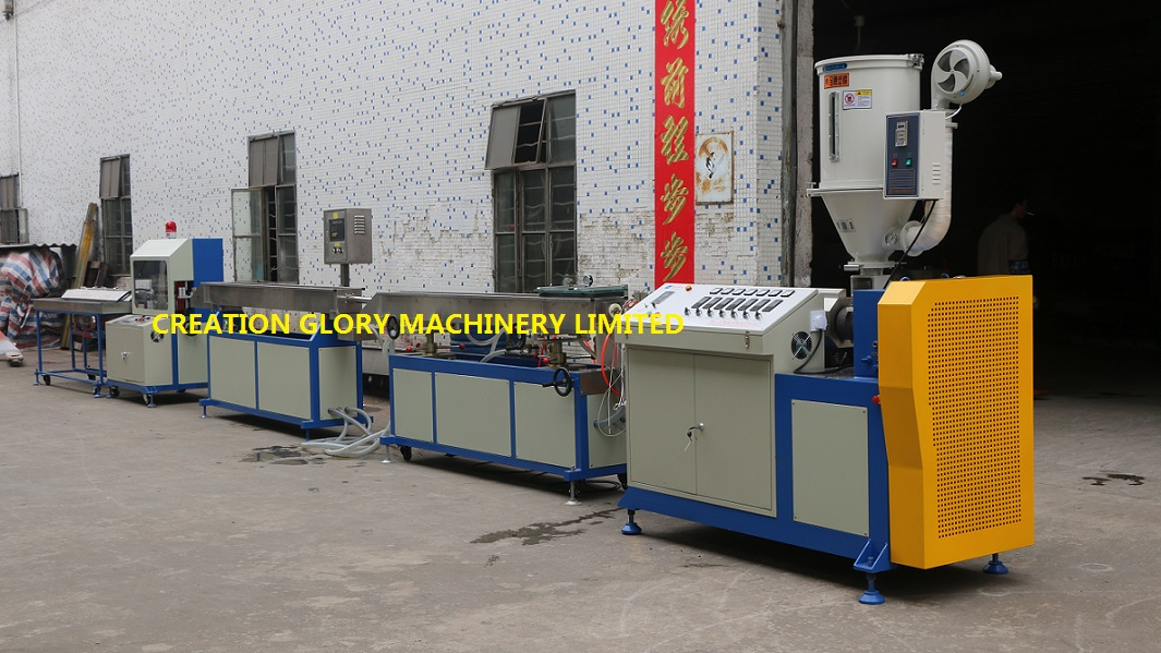 Stable performance PU pneumatic tube plastic extrusion production machinery
