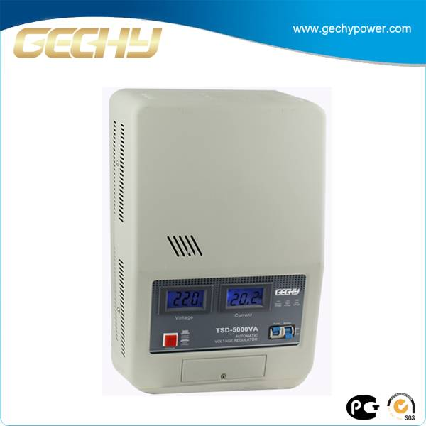 TSD servo ac 240v digital dispaly air conditioner avr 5kva voltage regulator in PHILIPPINES markt