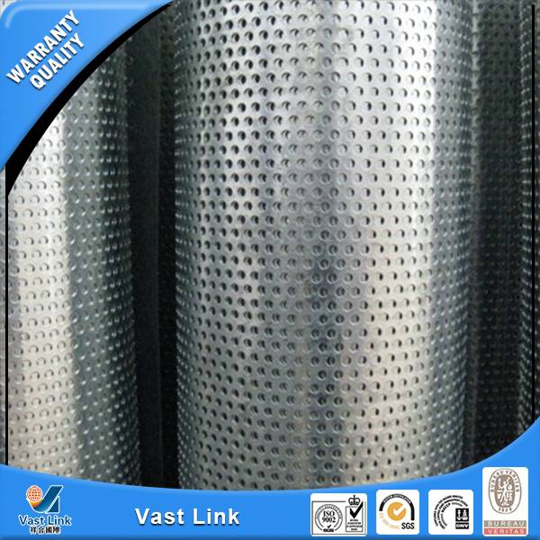 stainless steel punching hole tube