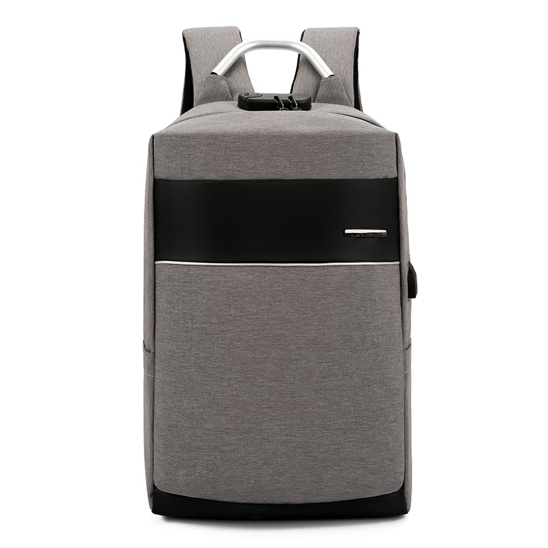 Travel Laptop Backpack with USB Charging Port +Anti-Theft Lock [Water Resistant] Slim Durable Colleg