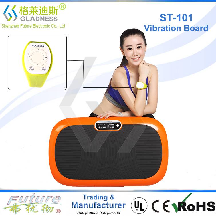 Gladness Patent New Design High quality crazy fit whole body vibrating fat loss machine
