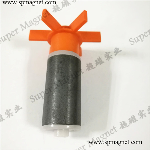 AF18.2x35mm  hard ferrite magnetic rotor  diametrical magnetization