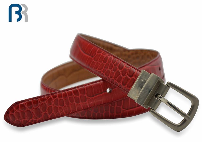 Ladies Reversible Stitching Leather Belt