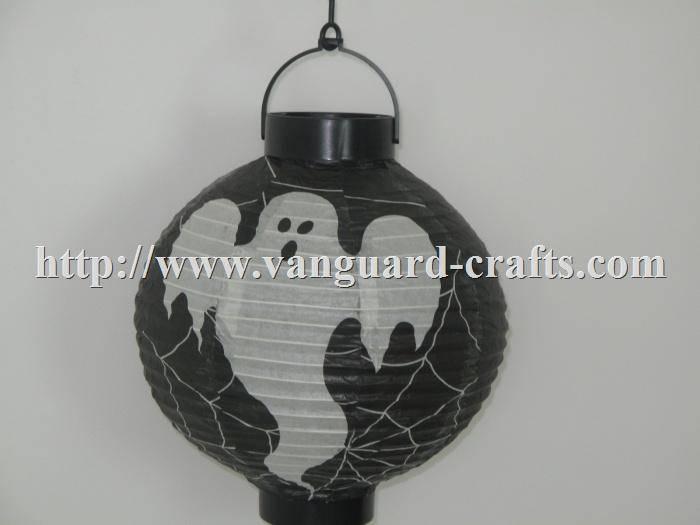 LED Halloween holiday paper lantern light