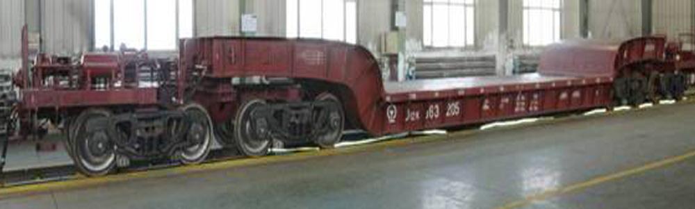 D12K Depressed Center Flat Car