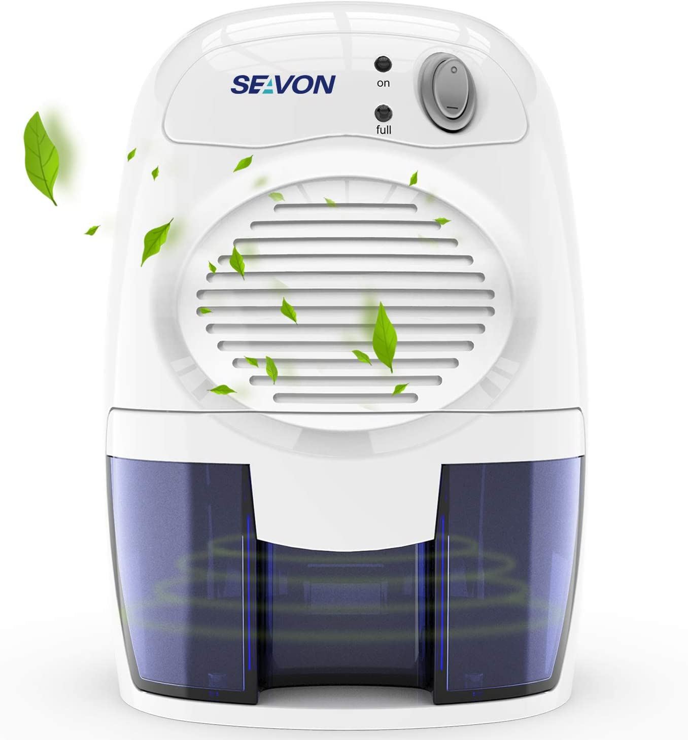 SEAVON New Electric 2020 Mini Dehumidifier, 1500 Cubic Feet (170 sq ft) Portable and Compact 500ml