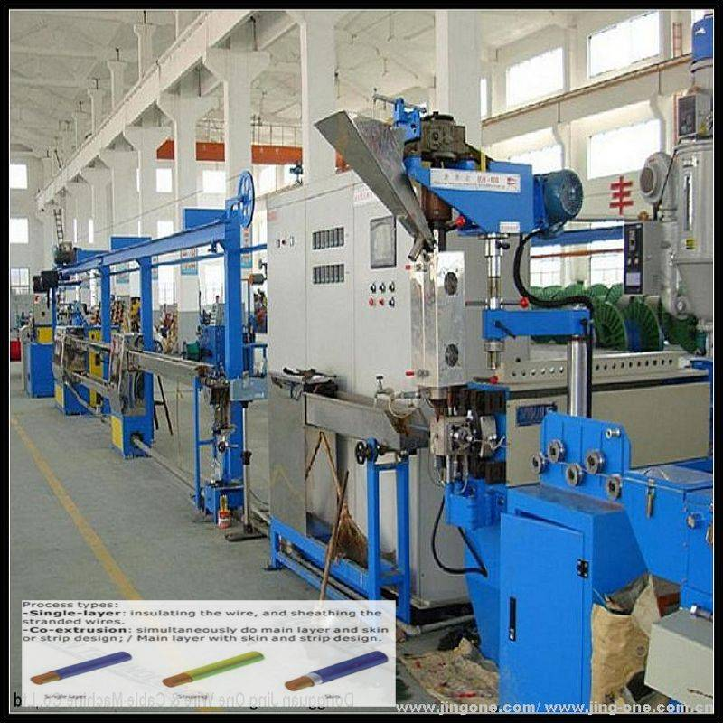 quality pvc/pe wire and cable making machine made in china