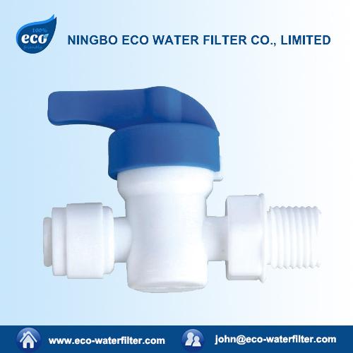 plastic water filter bypass valve