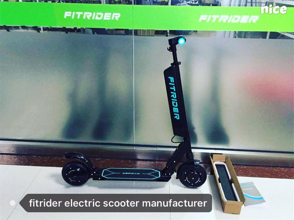 Fitrider Two Wheels Portable Electric Car E-Bike 8 incn electric scooter