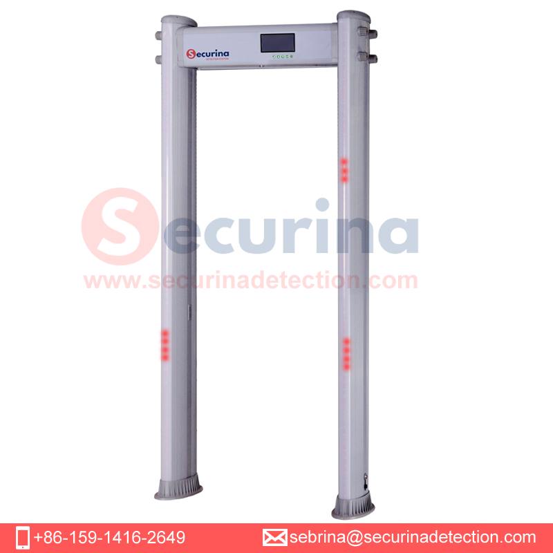 Securina brand 33 zones Walkthrough Metal Detector with quality control manufacturer