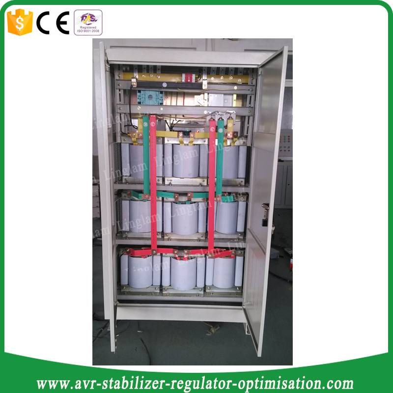 scr automatic voltage regulator 250kva three phase