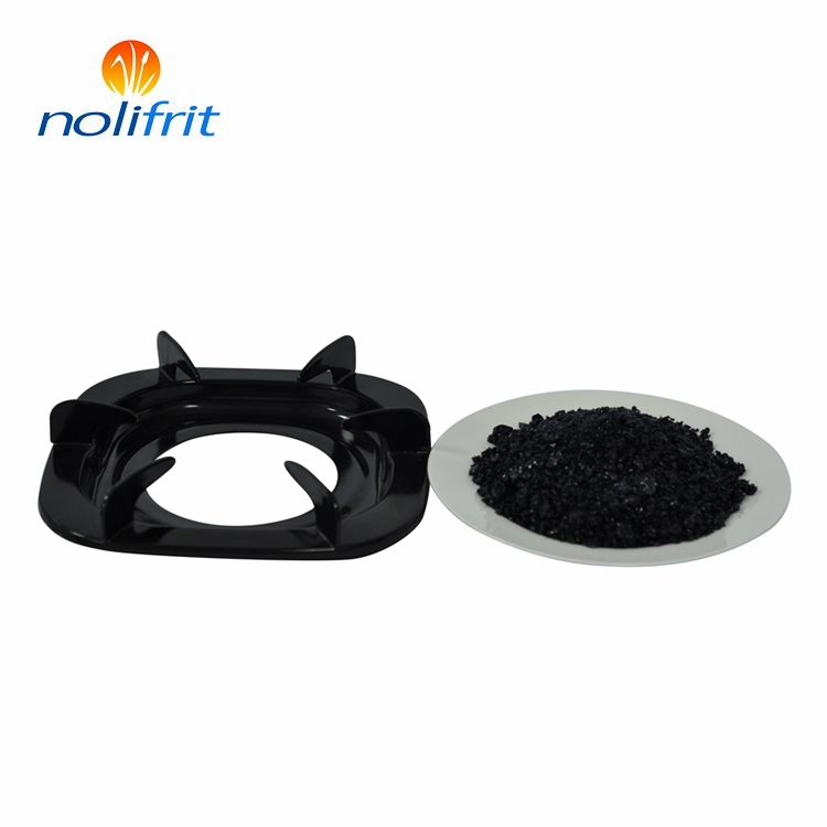 High temperature resistant porcelain enamel frit for ground coat