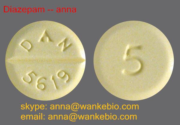 Diazepam cas no: 4349-14-5 fuf fuef Diazepam email: anna @ wankebio.com