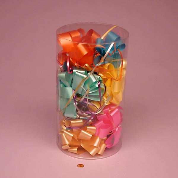 transparent plastic cylinder