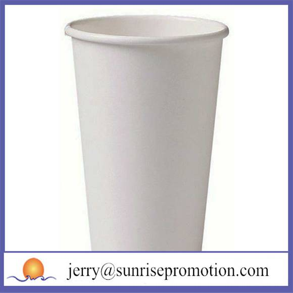 cheap disposable white 12oz coffee cup