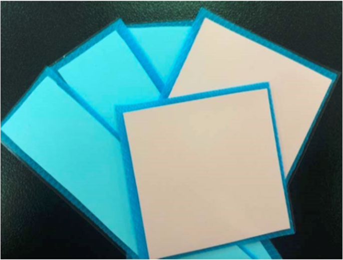 high thermal conductivity silicone pad