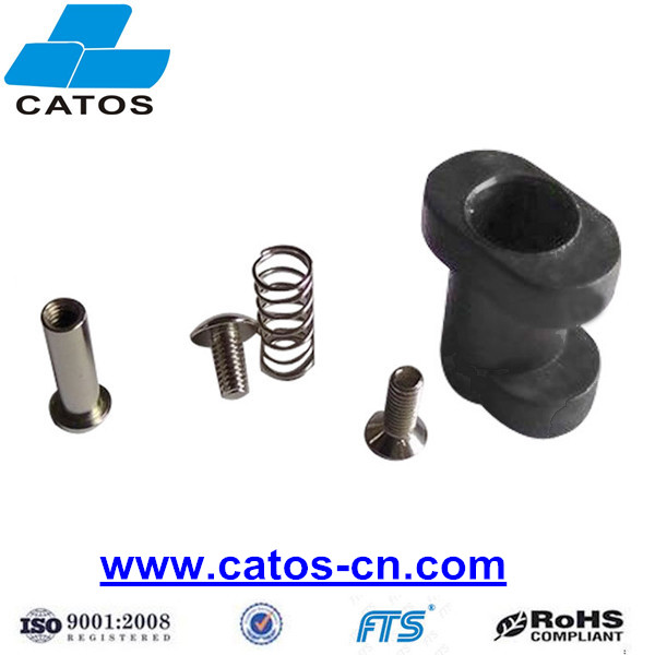 #5 Round Feet Clamps Fiberglass DOT Holddowns for PCBA Fixture with Higher Temperature Resistance