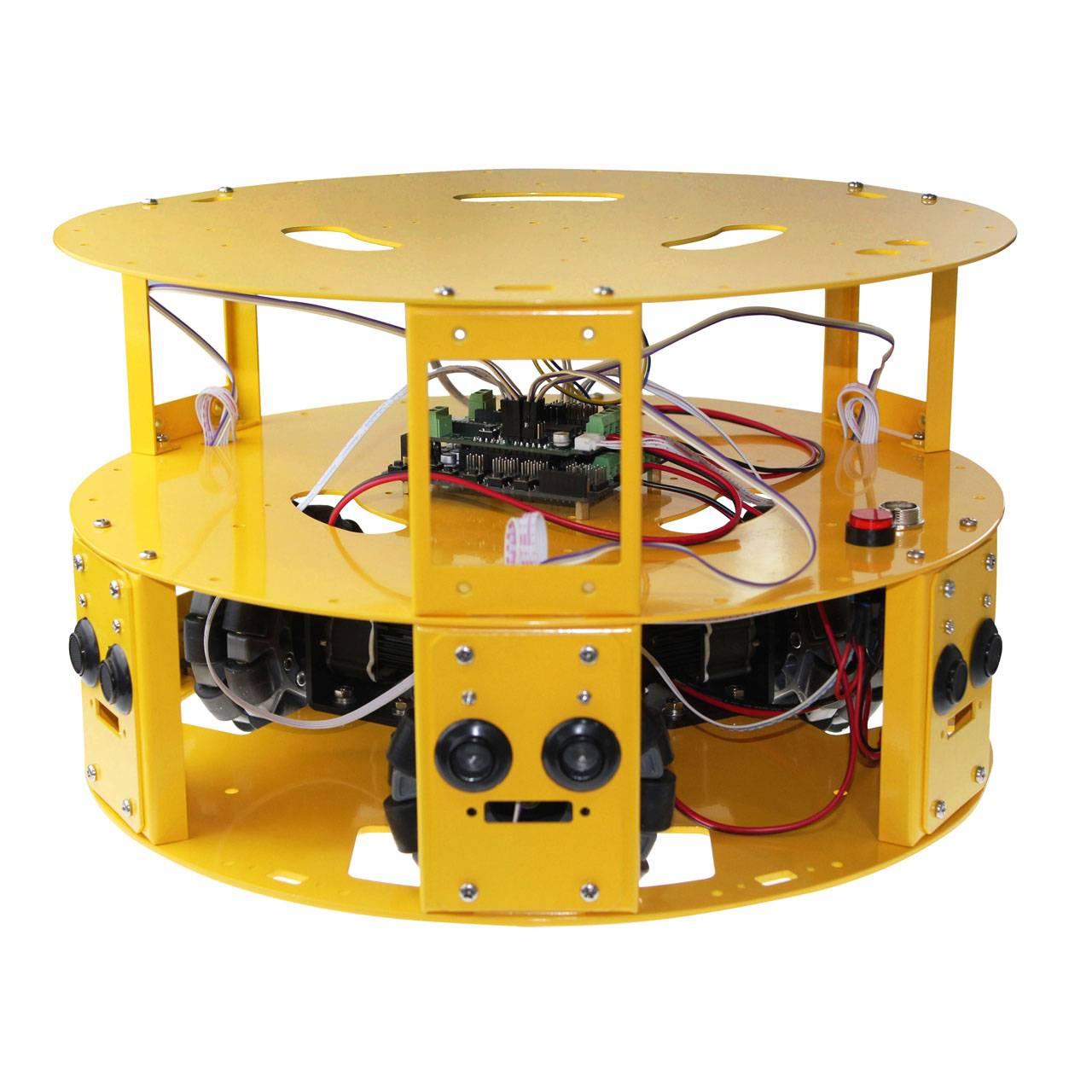 3WD 100mm Omni Wheel Arduino robotics car 10006