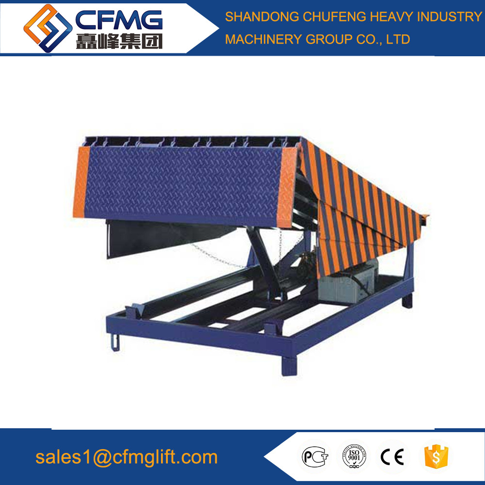 factory price stationary hydraulic dock leveler and dock loading ramps with CE