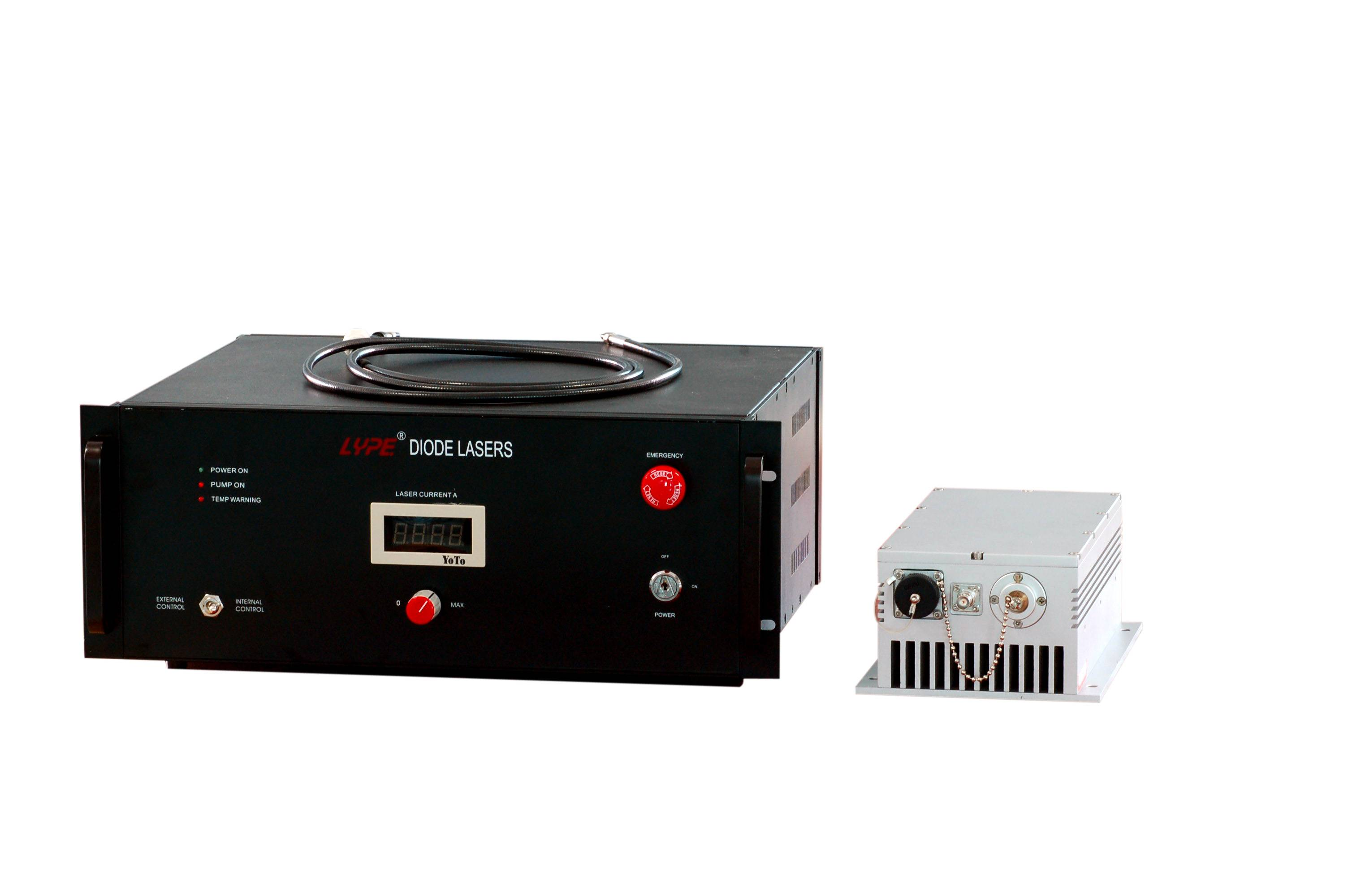 End Pumped Solid State YAG Lasers