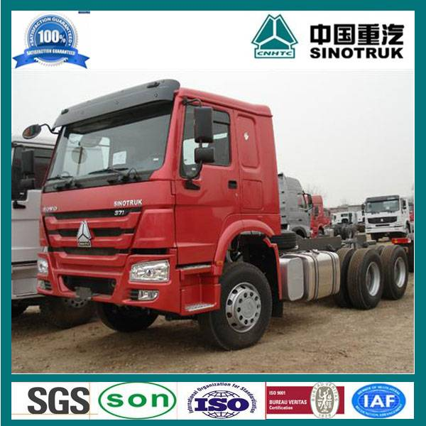2015 sinotruk howo tractor truck head 371hp low price
