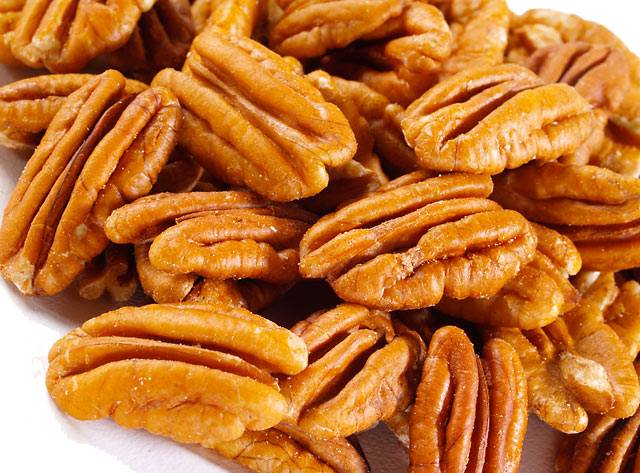 Pecan Nuts (raw, No Shell), Roasted - Salsted & Unsalted