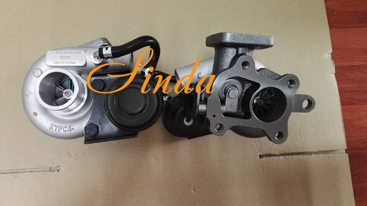Hyundai Tucson 28231-27000 49173-02412 turbocharger assy