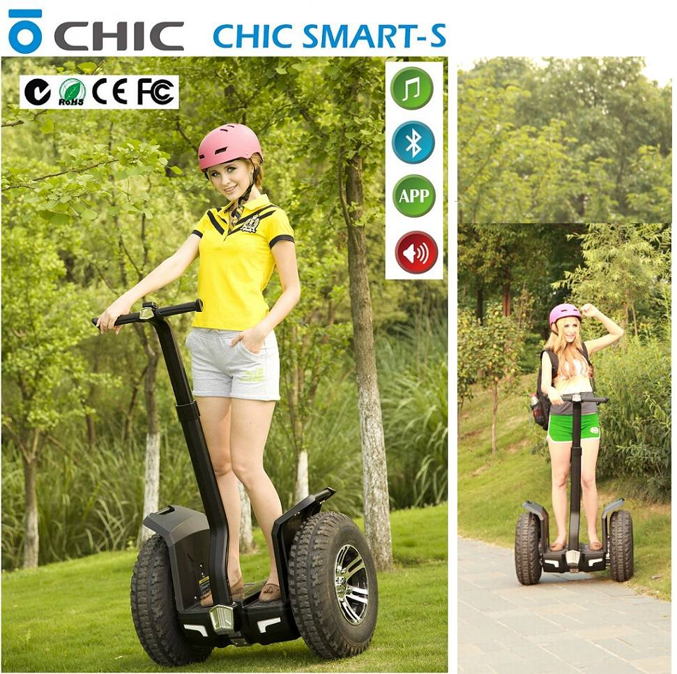 IO Chic 2016 two wheel Robot Hot Sale Electric Scooters With Hand Bar Hot Sale FOR outdoor landcruis