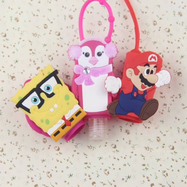 Factory Customize Silicone Promotional Perfume Bottle Case & Holder