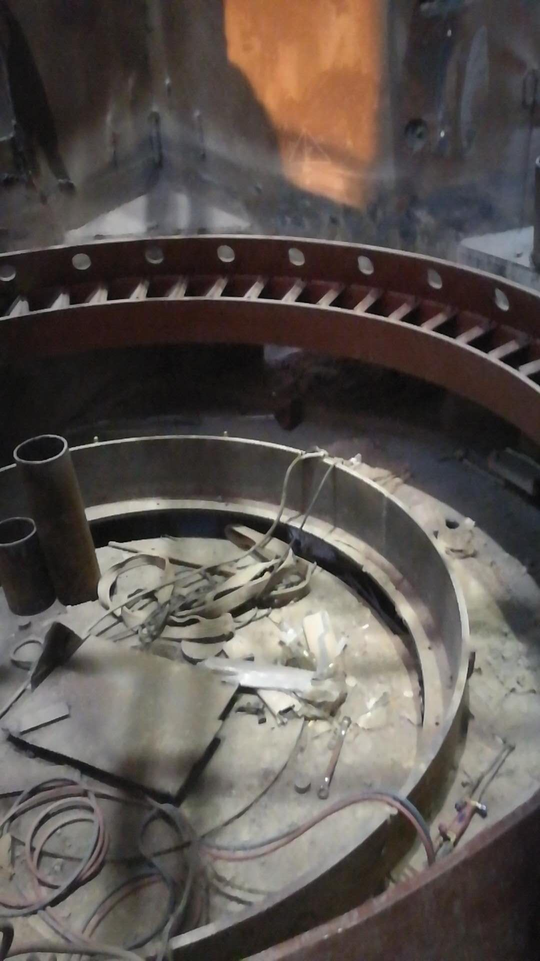 Nozzle ring,vertical roller mill parts,grinding roller mill parts
