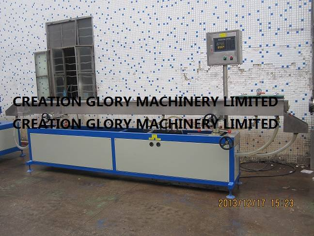 General vacuum calibration water tank for plastic extrusion line