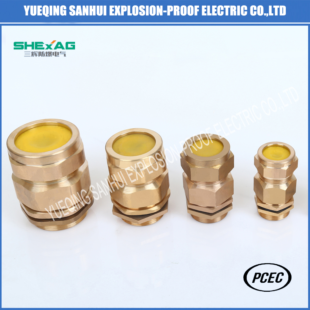 Flameproof Cable Glands Metric Pg G NPT Thread Type