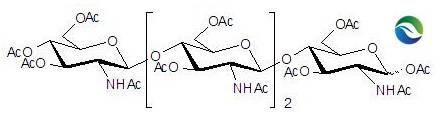 CAS 117399-51-6 Chitotetraose Tetradecaacetate