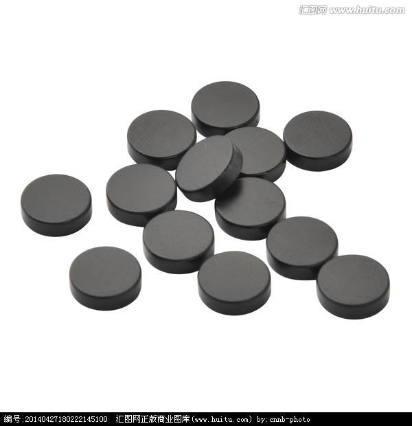 Custom disc ceramic permanent ferrite magnets