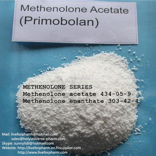 99% Purity Primobolan Acetate/CAS15262-86-9/high quality powder on sale