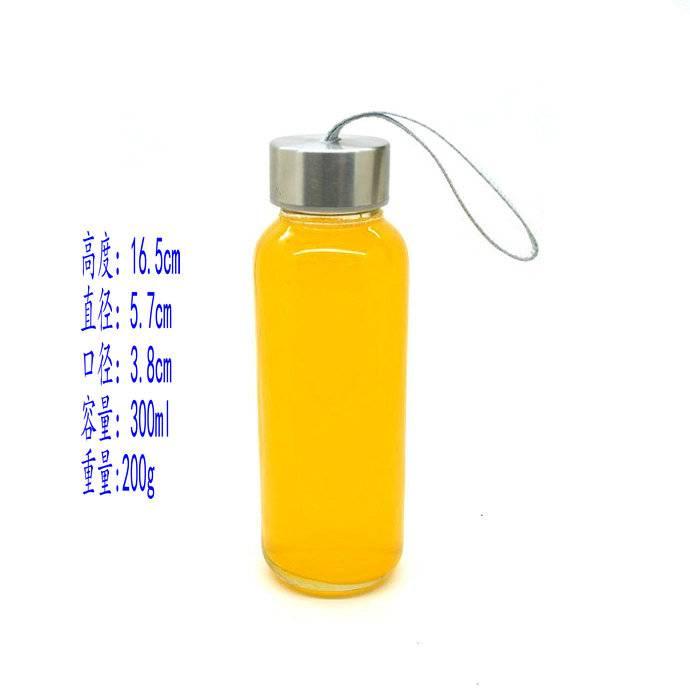 250ml water glass bottle