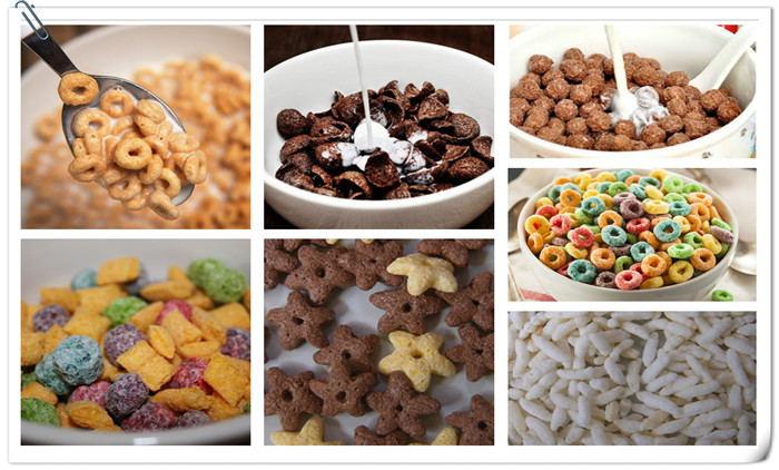 Breakfast Cereal Production Equipment