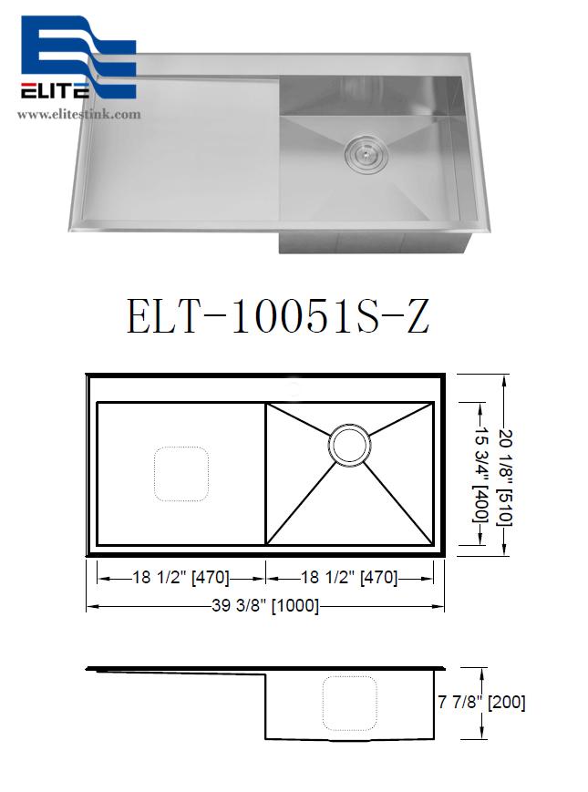topmount Stainless Steel Sink new zealand popular model