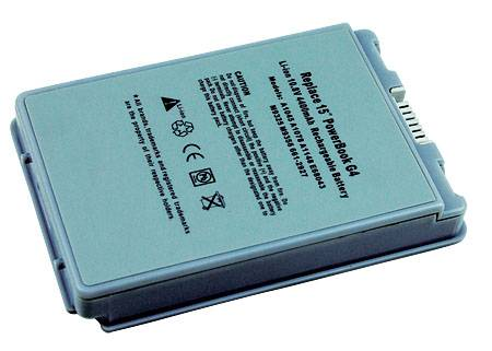 BATTERY FOR APPLE 15-inch Aluminum PowerBook G4