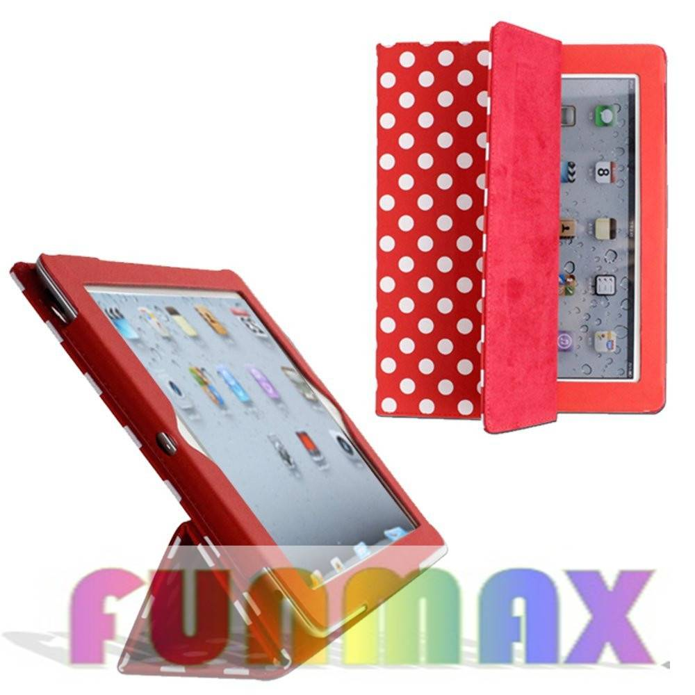 Apple iPad 2 3 4 Generation Slim Polyurethane Case Smart Cover Back Case Protective Skin Shell