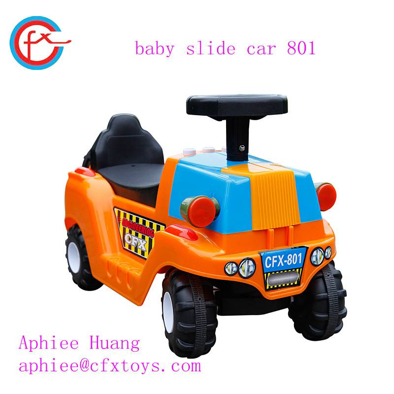 baby ride on toy kid slide twist car with music light 801