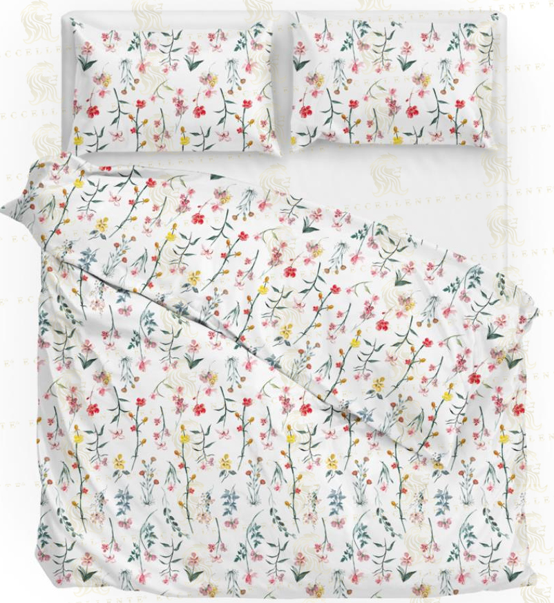 Four piece bed set 1