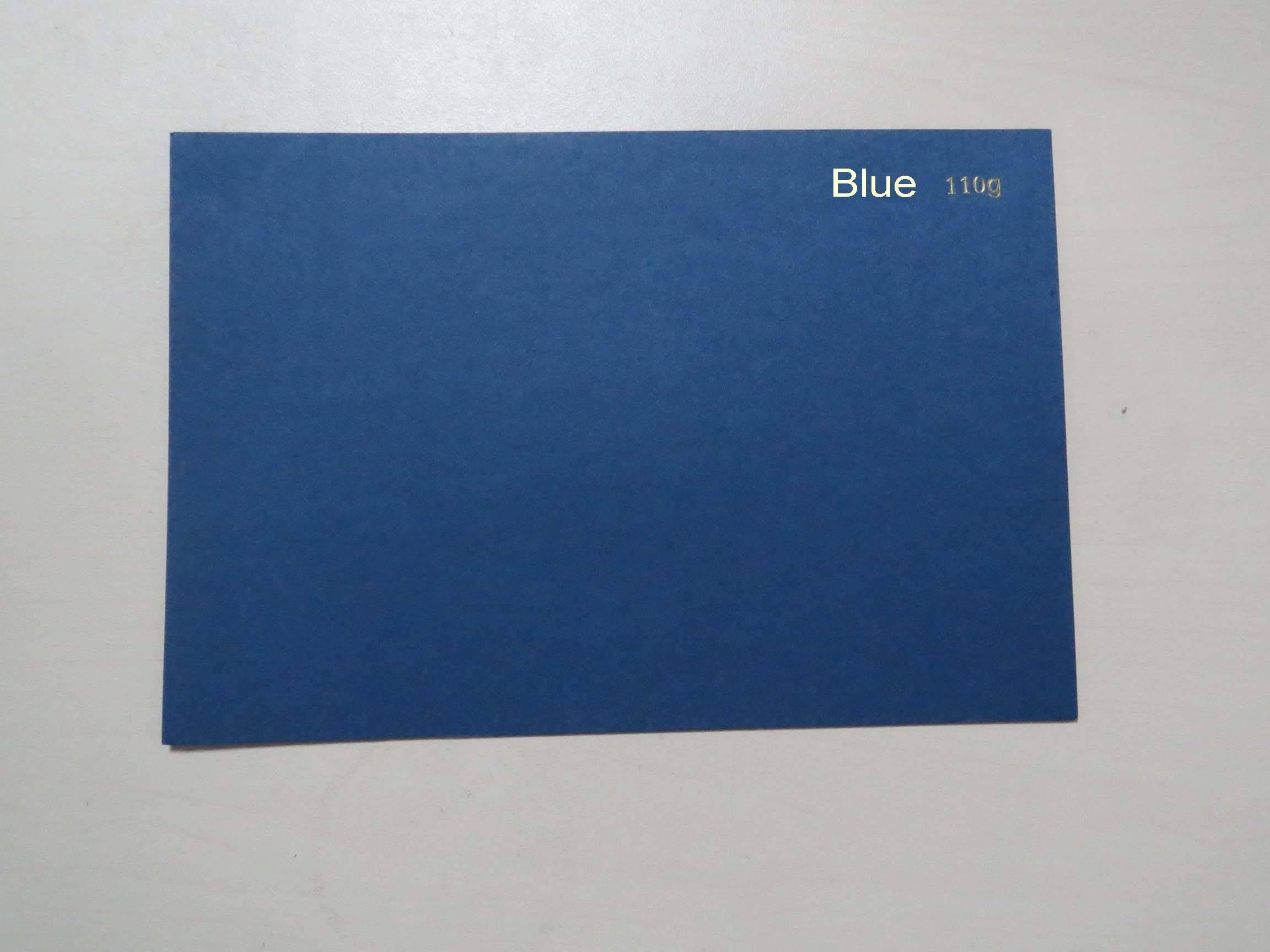 110g-280g Blue Cardboard, Blue Paperboard, Color Paper
