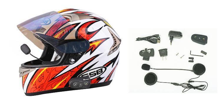 HM508 Bluetooth helmet headset 10 meters