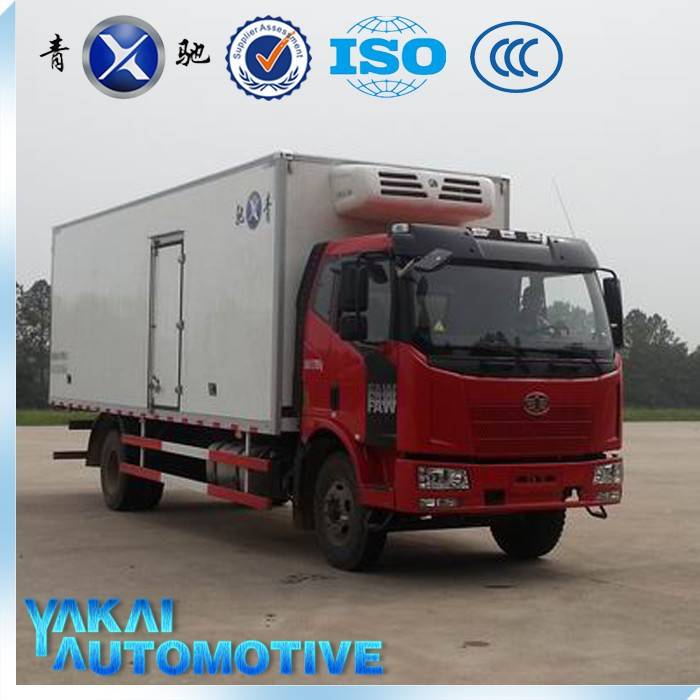 China hot sale refrigarated truck body for sale