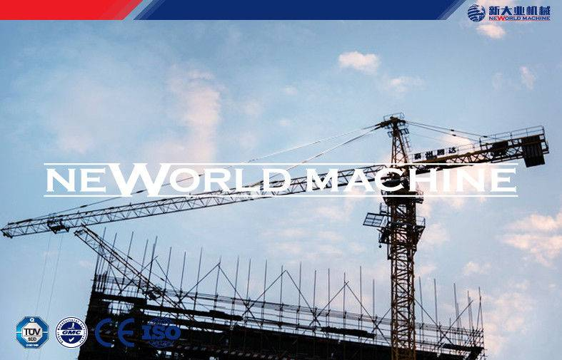 5610 Model self-ascending construction tower crane certification with ISO CE SGS
