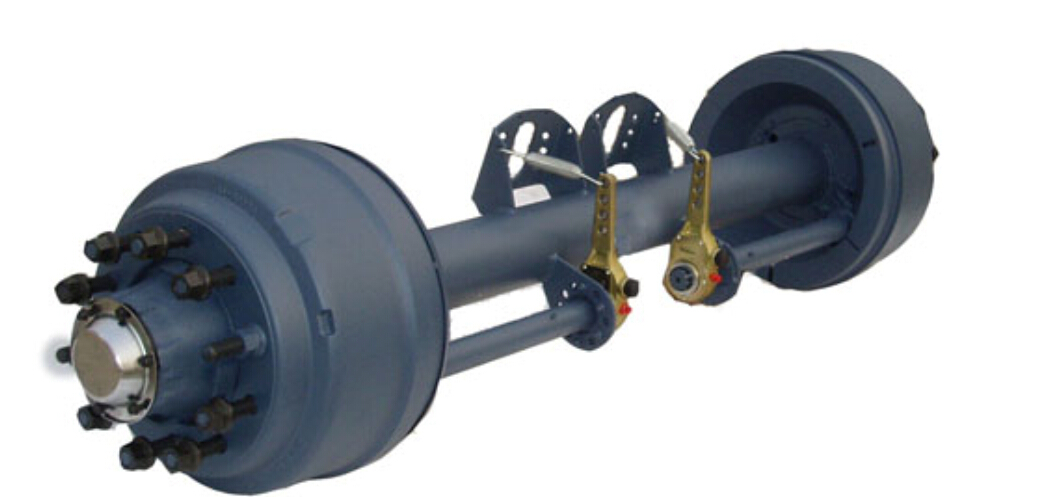 Factory prices semi trailer axles parts 13 ton American type axles