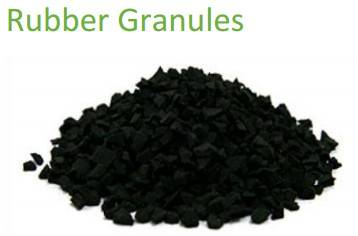 WASTE TYRE RUBBER GRANULES