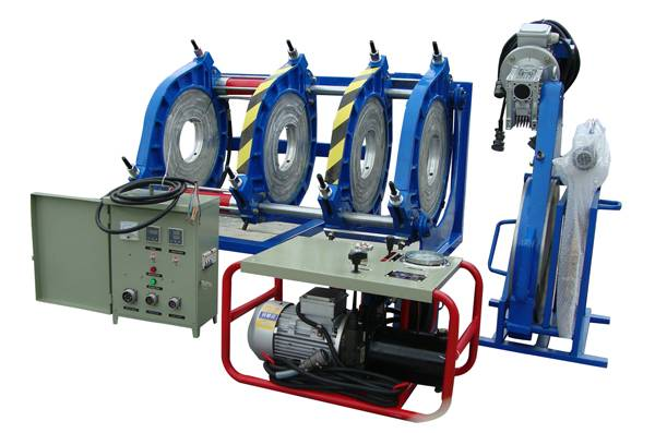 450mm butt welding machine PE PP HDPE plastic pipe welder