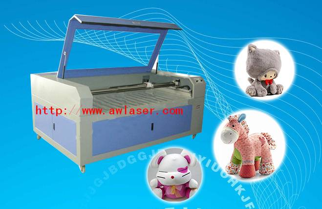 Laser Cutter Machine for Plush Toys